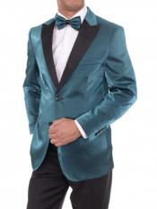 Mens 2 Button Peak Lapel