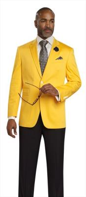 Product#JSM-3183Mens2Button2PieceYellowBlazer