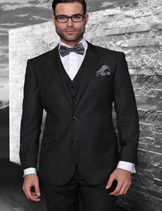 Style# Mens Three Piece Suit -