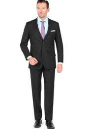 SM1294 Notch Lapel 2 Button Style Closure Single Breasted