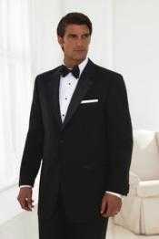 2 Button Style TUXEDO Superior Fabric 150S Wool Fabric