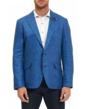 JSM-4274 Mens Sportcoat Two Buttons Single Breasted 100% Mens