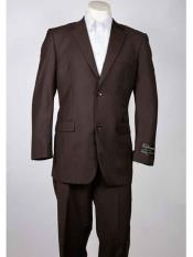 Men'sSummer2ButtonStylebrowncolorshadeSingle