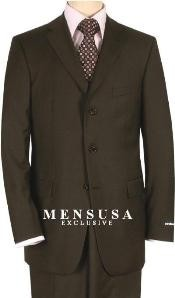 SP5 Solid brown color shade Quality Suit Separates Total