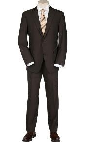 SP9 Solid brown color shade Quality Suit Separates Total