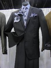 2PC2ButtonStyleSuitLuxuriousPolyRayon