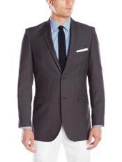 SM1152 2 Button Style Dark Grey Masculine color Notch