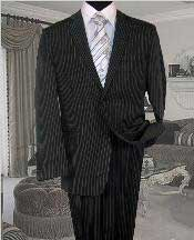 RJ126 Dark Grey Masculine color With White Pinstripe Conversative