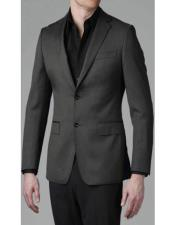 Charcoal Grey Slim fit blazer