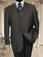 SK113 2 Button Style Extra Long Dark Grey Masculine