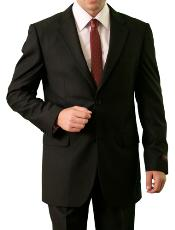 M085000 2 Button Style Front Closure Notch Lapel Suit