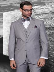 Style#Classic3pc2ButtonStylelightgrayStripe~