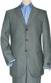 SP6 Solid Light Gray Quality Suit Separates Total Comfort