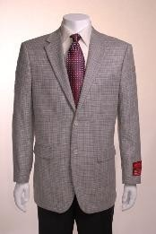 Jacket/Blazer Online Sale Gray Basketweave