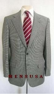 SGP509 Checker houndstooth fabric Checker Pattern Suit Comes in