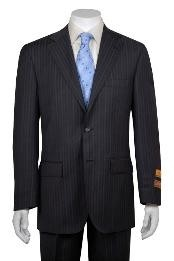 Gray Multi Stripe ~ Pinstripe