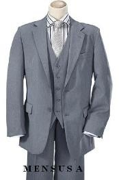 Product#B8771HighQualityMidGray2ButtonStyleVested