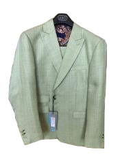 JSM-5124 Mens Mens 2 Piece Linen Causal Outfits ~