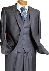 3 Piece Vested 2 Button