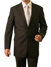 M082000 2 Button Style Front Closure Notch Lapel Suit
