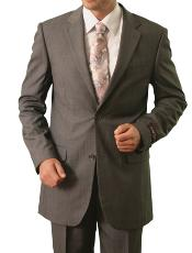 M119000 2 Button Style Front Closure Notch Lapel Suit