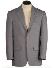 JSM-4279 Mens Two Buttons Single Breasted Polyester & Wool