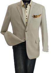 2-Button Single-Breasted Blazer Online Sale
