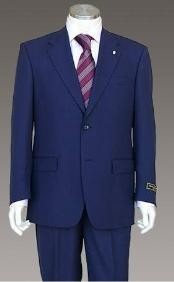 Two-Buttons-Navy-Blue-Suit