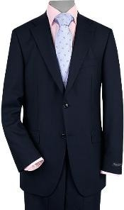 2 Button Style Vented Navy