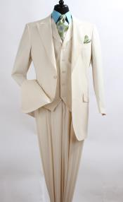 SZ3Q2 3 Piece Fashion three piece suit - Wool