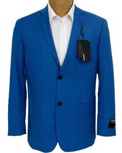 RYB679 Solid royal blue pastel color Sport Coat Jacket