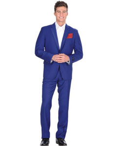 ET46C 2 Button Style Royal Blue Suit For Men