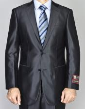 JSM-6506 Mens Two Buttons Shiny Authentic Giorgio Fiorelli Brand