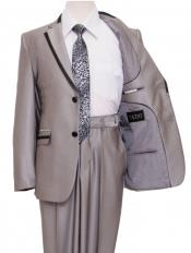 2ButtonStyleFrontClosureKidsBoysDressFormal