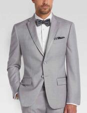 JSM-2043 Mens 2 Buttons Slim Fit Tuxedo Trimmed Lapel