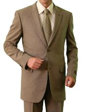 M116000 2 Button Style Front Closure Notch Lapel Suit