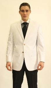 2 Button Style White Dinner