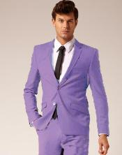 LVR913 2 Button Style Wool Fabric & Cotton Suit