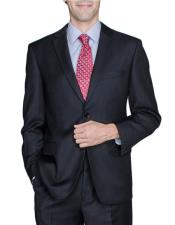 JSM-6505 Mens Two Buttons Wool and Silk Blend Authentic