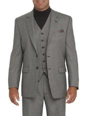 771 High Quality Light Gray 2 Button Style Vested