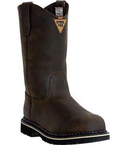 PZ785 McRae Industrial-11 Safety Toe Wellington MR85344 Dark brown