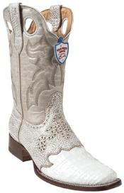 JC6742 Wild West White Cai Belly Wild Rodeo Toe