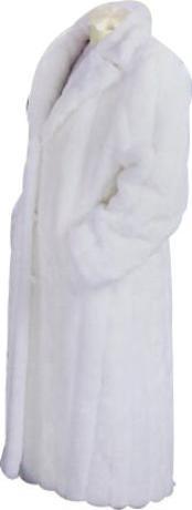 Artificial Fur Coat White