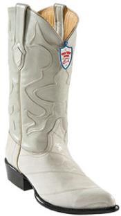 RN9857 Wild West Bone Eel Cowboy Boots