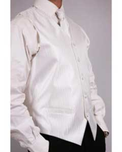 PN11 White Four-Piece Vest Set