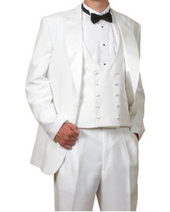 TA4L 6 Piece Complete White Tuxedo Clearance Sale Online
