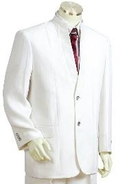 JH2411 3 Buttons Style Suit Style Comes in White