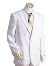 LK0215 Two Button Suits for Online White