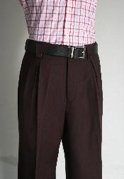 WNE9124 Wide Leg Pants Wine