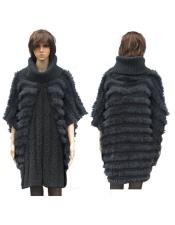 GD829 Fur Grey Fully Insulated Genuine Rabbit